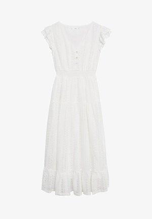 Day dress - złamana biel