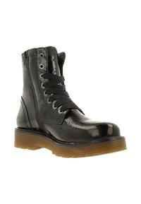 Gaastra - DEMI HIGH PAT - Lace-up ankle boots - black - 6