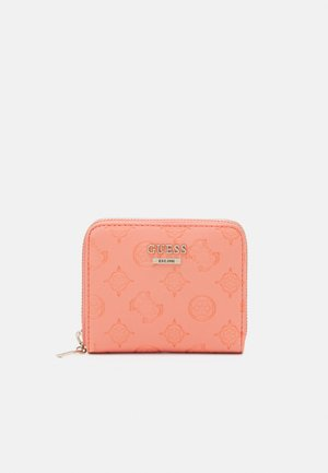 DAYANE SMALL ZIP AROUND - Portefeuille - coral