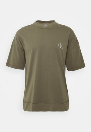 ONE CREW NECK - Pyjama top - khaki