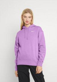 Nike Sportswear - HOODIE TREND - Sweater - violet shock/white - 2