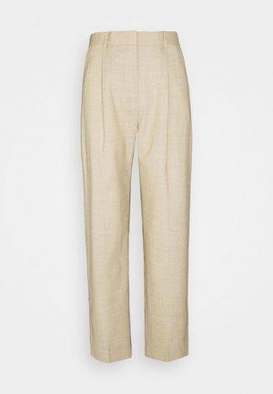 LEANNE - Pantaloni - wheat melange
