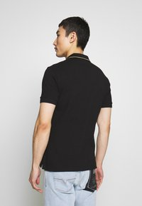 Versace Jeans Couture - EMBROIDERY POLO - Poloshirt - black - 2