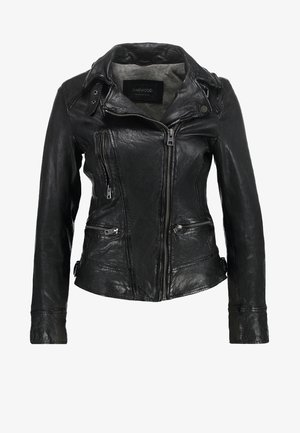 VIDEO - Leather jacket - noir