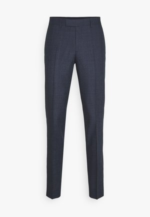 GRANT CHECKED PANTS - Anzughose - mid blue