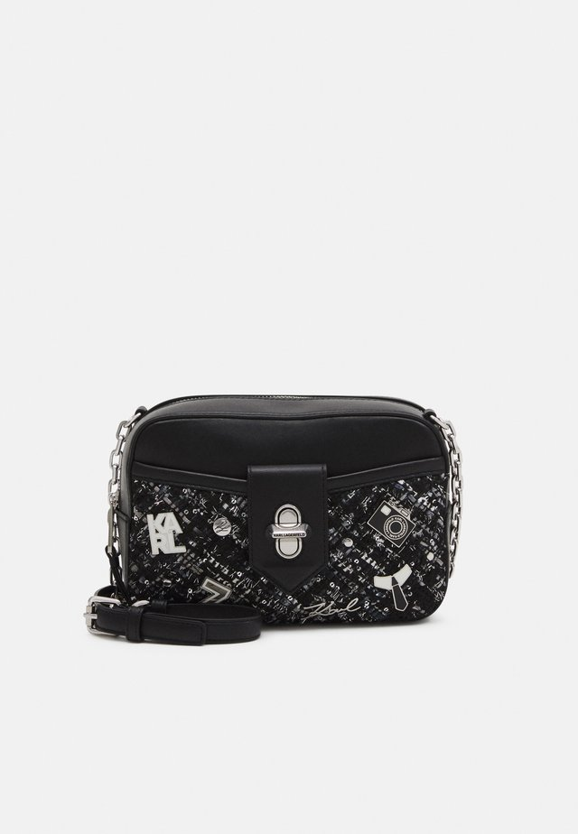 STUDIO CAMERA BAG - Sac bandoulière - black