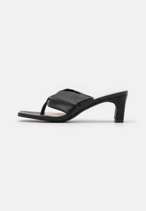 NARYN - T-bar sandals - black