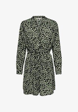 Shirt dress - seagrass