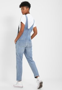 Carhartt WIP - OVERALL - Tuinbroek - blue light stone washed - 2