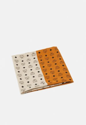 LOGO GROUP PRINT SCARF - Foulard - roasted pecan