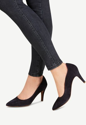 COURT SHOE - High heels - navy