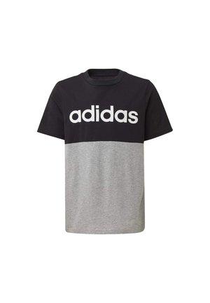 LINEAR COLORBLOCK T-SHIRT - Camiseta estampada - black