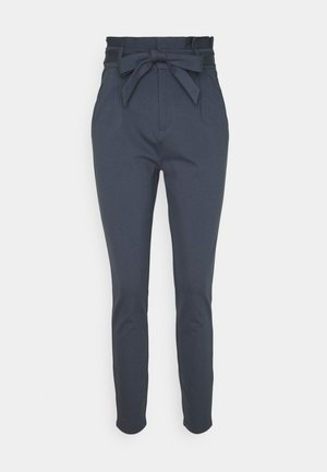 VMEVA PAPERBAG PANT TALL - Chinos - ombre blue