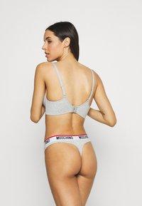 Moschino Underwear - THONG - String - grey melange - 2