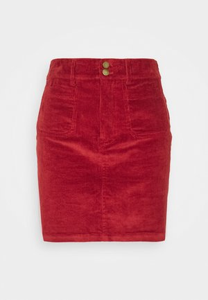 YOUNG LADIES SKIRT - Mini skirt - red