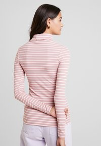 New Look - STRIPE ROLL - Long sleeved top - pink - 2