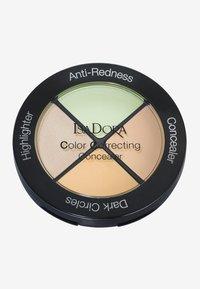 IsaDora - COLOR CORRECTING CONCEALER - Face palette - anti-redness - 0