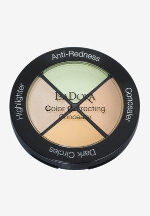 COLOR CORRECTING CONCEALER - Face palette - anti-redness