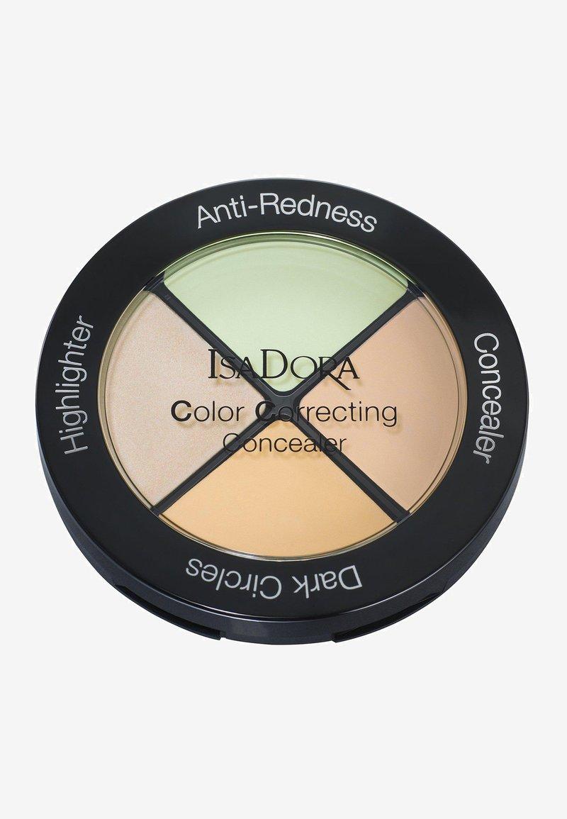 IsaDora - COLOR CORRECTING CONCEALER - Face palette - anti-redness