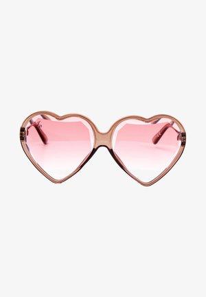 Okulary przeciwsłoneczne - rose gold