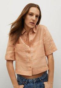 Mango - JENI - Button-down blouse - oranje - 0