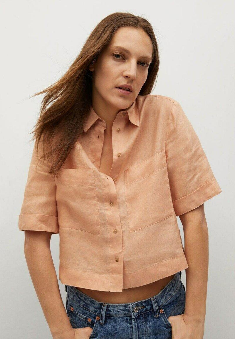 Mango - JENI - Button-down blouse - oranje
