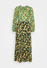 Closet - GATHERED NECK A LINE DRESS - Maxi dress - green - 4