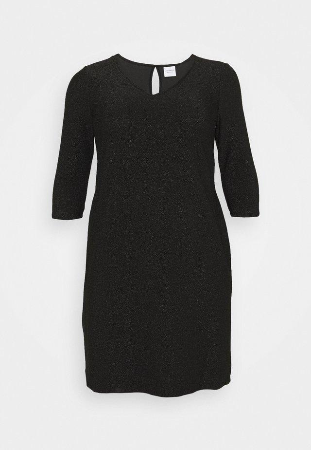 JRSAKINA ABOVE KNEE DRESS - Jersey dress - black