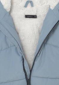 Name it - NBMMAKE PUFFER - Winter coat - blue fog - 2