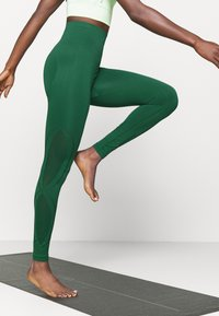 Even&Odd active - SEAMLESS - Leggings - green - 3