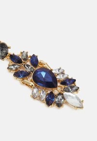 Pieces - PCLAURA EARRINGS - Earrings - gold-coloured/blue/clear - 2