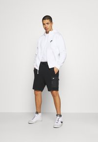 Nike Sportswear - HOODIE - Sweatjacke - white/photon dust/black - 1