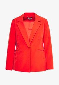 Simply Be - PRESS BLAZER STYLE - Cappotto corto - tomato red - 4