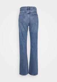 Agolde - LANA - Jeansy Straight Leg - blue denim - 1