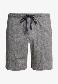 Schiesser - SLEEPWEAR TROUSERS SHORTS  - Pyjama bottoms - mottled dark grey - 3