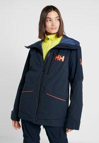 Helly Hansen - POWCHASER LIFALOFT JACKET - Snowboardjakke - navy - 0
