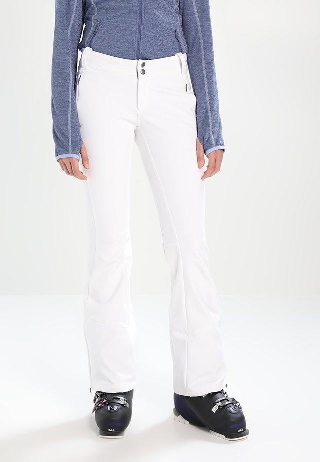 ROFFE RIDGE - Pantalon de ski - white