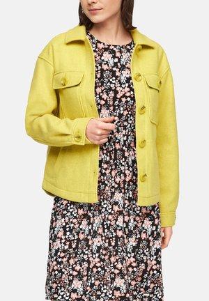 Korte jassen - yellow