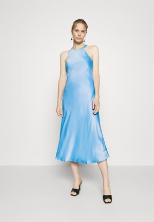 CUT OUT BACK SLIP DRESS - Cocktail dress / Party dress - sky blue