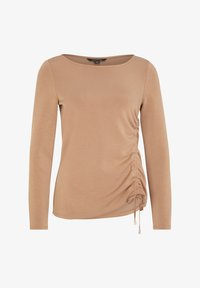 comma - Long sleeved top - chocolate camel - 5