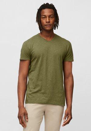 Basic T-shirt - multi/aged oak