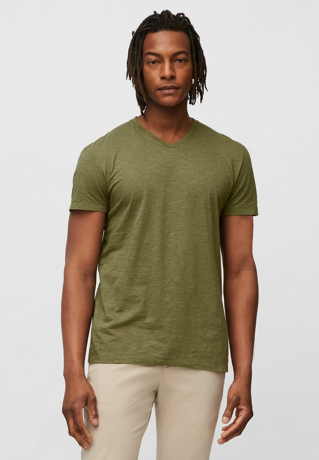 Basic T-shirt - multi/aged oak