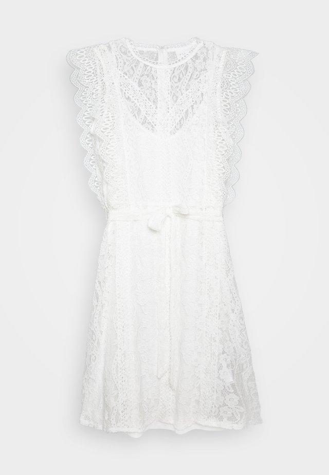 VITAFFA SHORT DRESS - Sukienka letnia - cloud dancer
