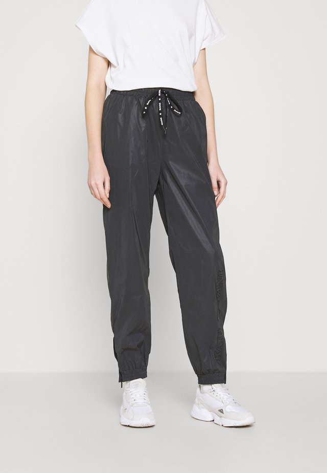 RETRO REFLECTIVE TRACKPANTS  - Tracksuit bottoms - black