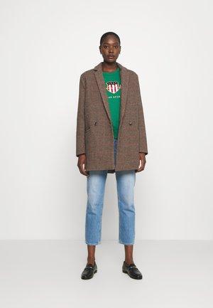 ARCHIVE SHIELD NECK - Sweatshirt - ivy green