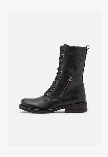 COOPER - Lace-up boots - black
