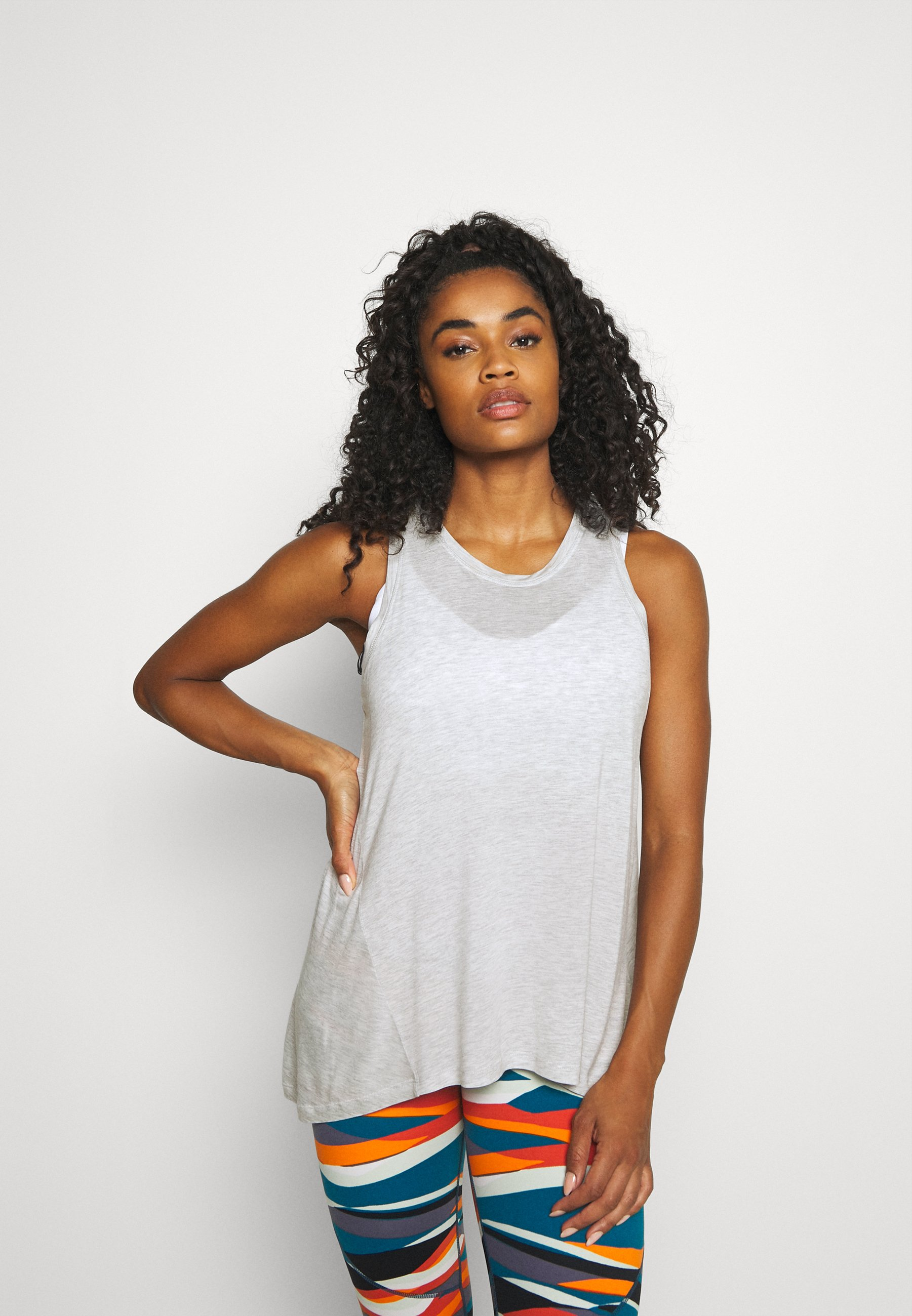 Women EASY PEAZY  - Top - light grey