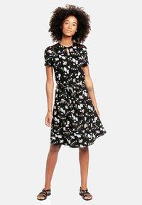 Vive Maria - PARADISE  - Day dress - schwarz allover - 0