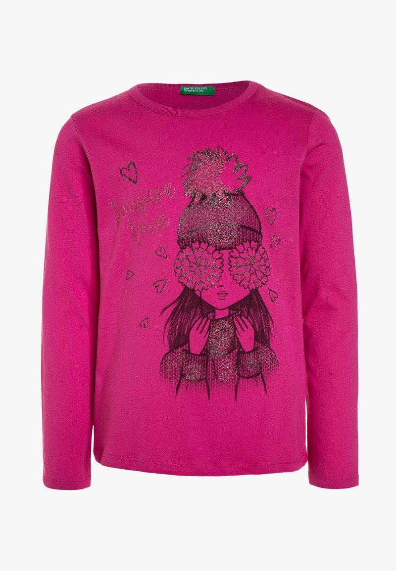 Benetton - Långärmad tröja - pink