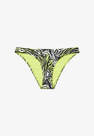 Bikini pezzo sotto - tangled tiger direct green